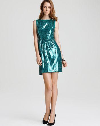 Ali Ro - Sleeveless Sequin Dress