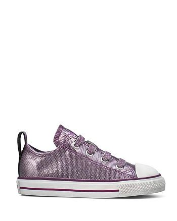 c079b21b5150a8 Converse - Toddler Girls  Chuck Taylor All Star Stretch Lace Sparkle  Sneakers - Sizes 2