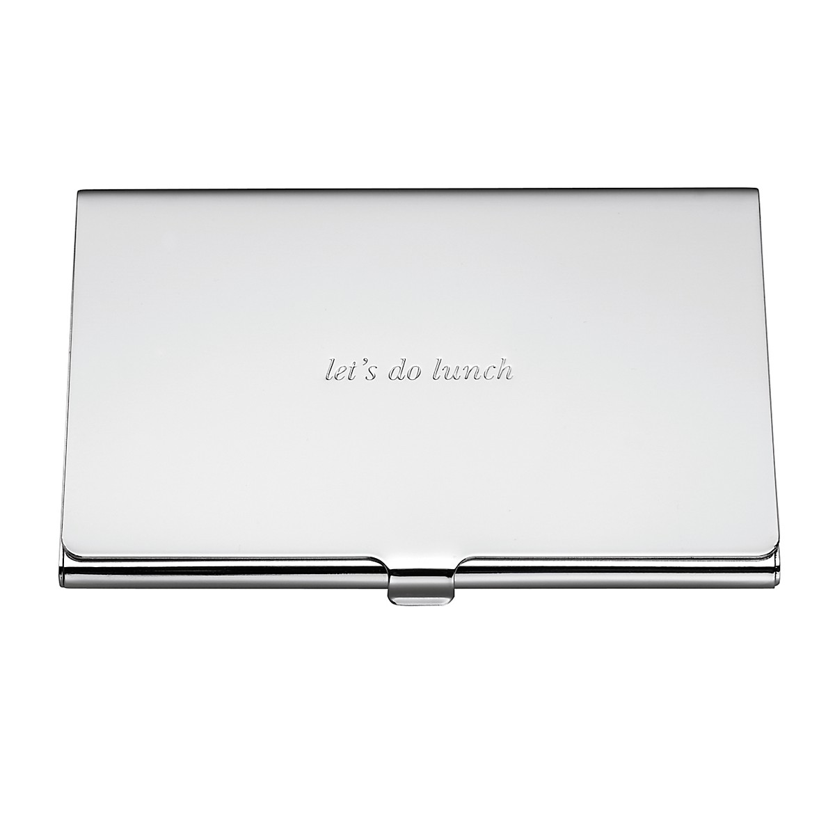 kate spade new york Silver Street Let\'s Do Lunch Business Card ...