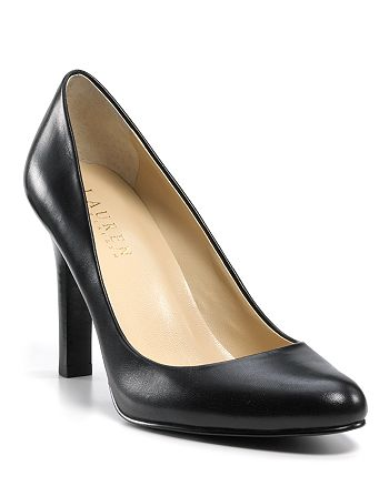 factory outlets unique design clearance sale Ralph Lauren Pumps - Zabrina Round Toe | Bloomingdale's