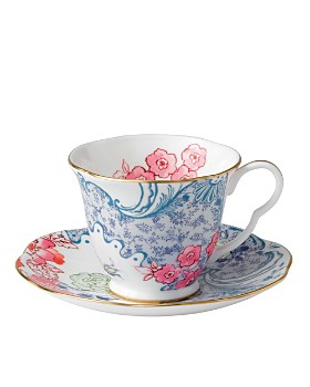 Wedgwood - Butterfly Bloom Spring Blossom Cup & Saucer