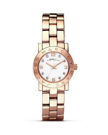 MARC JACOBS - Mini Amy Rose Gold Watch, 26mm