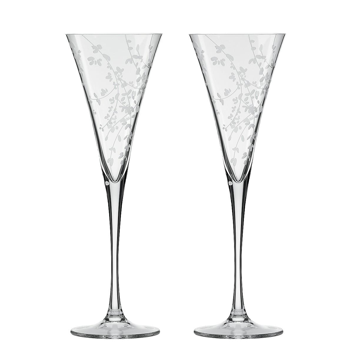 kate spade new york Gardner Street Champagne Flute, Pair ...
