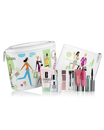 Clinique - Get Your 8-Piece Clinique Gift! Free with any Clinique purchase of $28 or more (a $75 Value!)