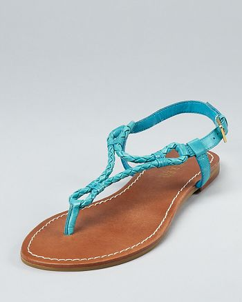 Ralph Lauren - Alexa Rope Flat Sandals