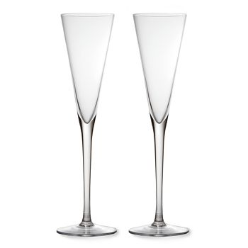 William Yeoward Crystal - Crystal Lillian Cocktail/Champagne Flute, Set of 2