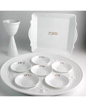 Bernardaud - Louvre Mini Seder Plates, Set of 6
