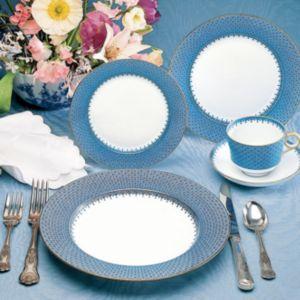 Mottahedeh Blue Lace Oval Platter
