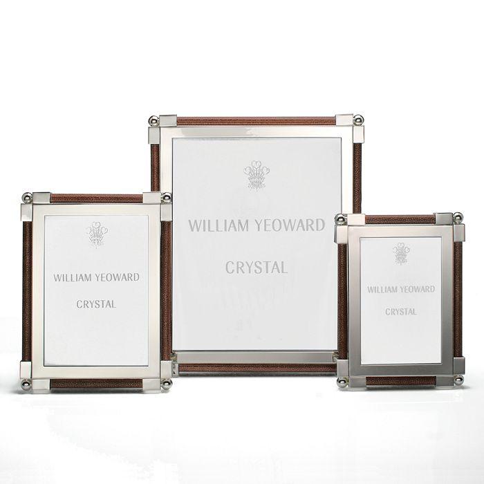 William Yeoward Crystal - Crystal Classic Frame, Dark Brown