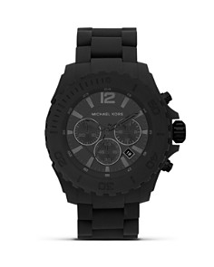 Michael Kors Silicone Drake Watch, 48mm - Bloomingdale's_0