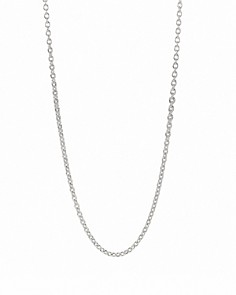 "PANDORA Oxidized Silver Chain Necklace, 17.7"" - Bloomingdale's_0"