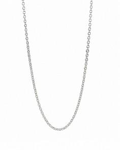 "Pandora - Oxidized Silver Chain Necklace, 17.7"""