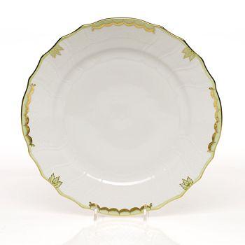 Herend - Princess Victoria Dinner Plate, Green