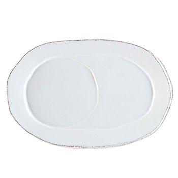 VIETRI - Vietri Lastra Oval Tray, White