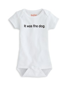 Sara Kety Unisex It Was the Dog Bodysuit - Baby - Bloomingdale's_0