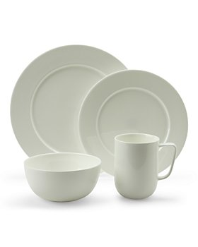 Hudson Park Collection - Round White Dinnerware - 100% Exclusive