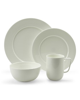 Hudson Park Collection - Round White Dinnerware - 100% Exclusive