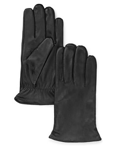 The Men's Store at Bloomingdale's Cashmere Lined Leather Gloves_0