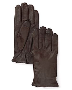 The Men's Store at Bloomingdale's Cashmere Lined Leather Gloves