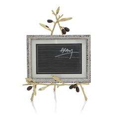 Michael Aram Olive Branch Gold Convertible Easel Frame - Bloomingdale's Registry_0