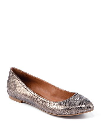 Lucky Brand - Exotic Pointed Toe Ballet Flats - Peppy