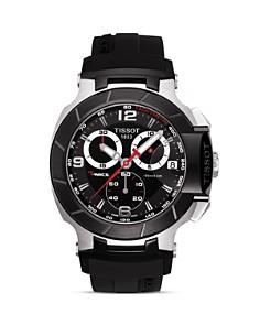 Tissot - Tissot T-Race Men's Black Quartz Chronograph Rubber Strap Watch, 50mm