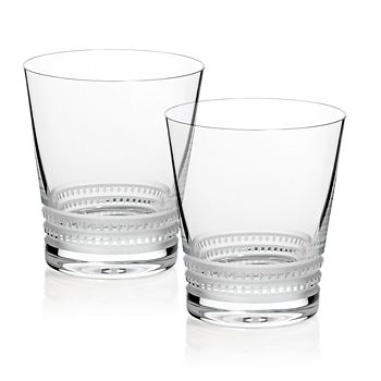 Lalique - Large Facet Tumbler, Set of 2