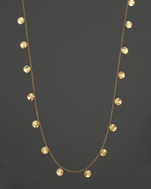 Ippolita 18K Yellow Gold Paillette Necklace, 33