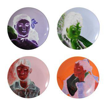 Bernardaud - Bernardaud Portraits Impressionnistes Dinner Plates, Set of 4