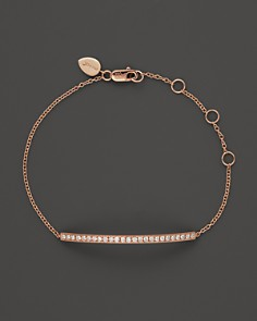 Meira T 14K Rose Gold Bar Bracelet with Diamonds, .30 ct. t.w. - Bloomingdale's_0