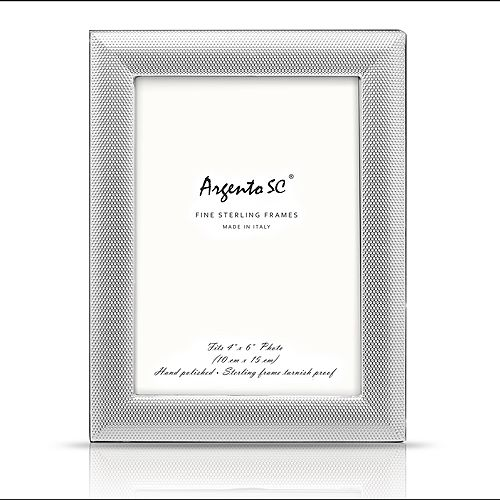 "Argento SC - Dots Frame, 4"" x 6"""