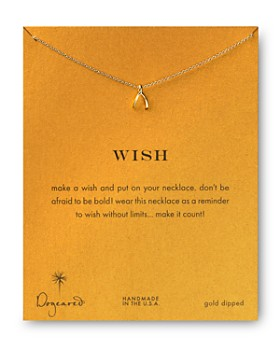 Dogeared - Wish Necklace, 18""