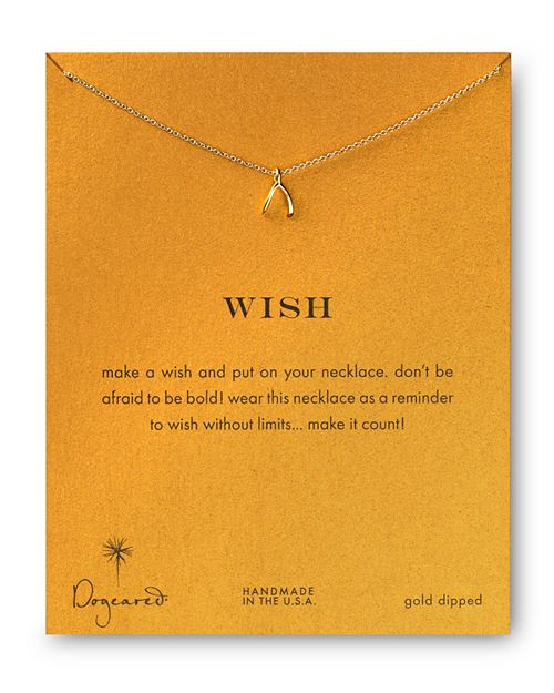 """Dogeared - Wish Necklace, 18"""""""