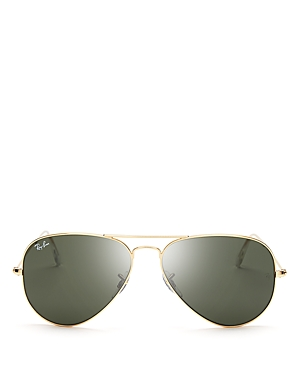 Ray-Ban Unisex Classic Aviator Sunglasses, 55mm