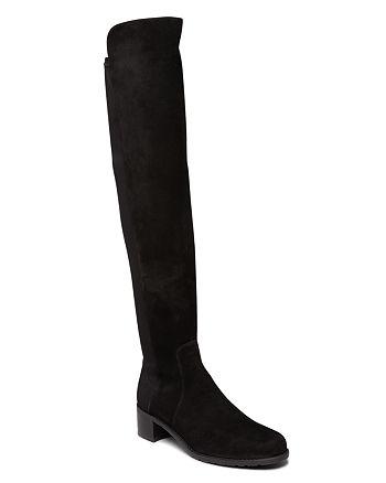 Stuart Weitzman - Women's Reserve Suede Over-the-Knee Boots