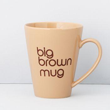 Bloomingdale's - Big Brown Mug - 100% Exclusive