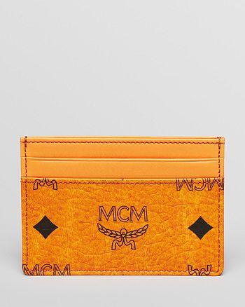 MCM - Heritage Card Case Wallet