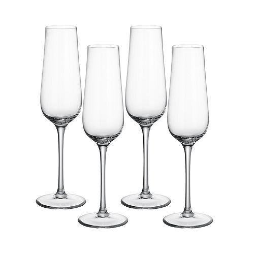 Villeroy & Boch - Purismo Champagne Flute, Set of 4