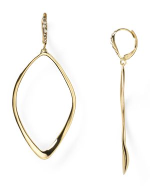 Alexis Bittar Miss Havisham Sculpted Aura Teardrop Leverback Earrings