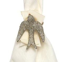 Juliska Sparkle Dove Napkin Rings, Set of 4 - Bloomingdale's Registry_0