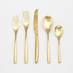 Sambonet Hart Satin Gold 5-Piece Place Setting - Bloomingdale's Registry_0