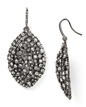 Abs by Allen Schwartz Mixed Glass Navette Drop Earrings