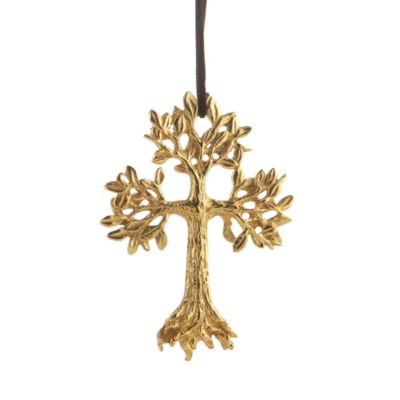 Leafy Cross Ornament by Michael Aram