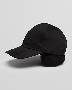 The Men's Store at Bloomingdale's Cashmere Earflap Baseball Cap_0