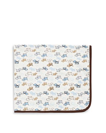 Little Me - Infant Boys' Cute Puppy Blanket