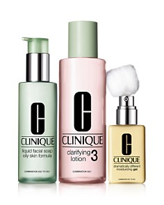 Clinique - 3-Step Skin Care System, Skin Type 3 Combination Oily to Oily