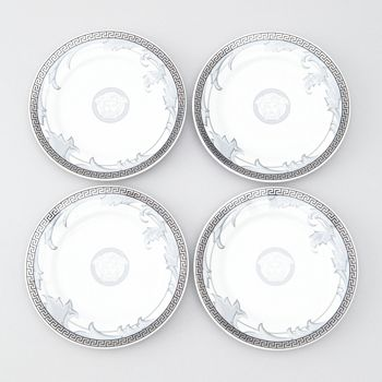 Versace - Rosenthal Meets  Arabesque Canape Plates, Set of 4