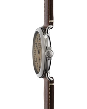 Shinola - The Runwell Dark Coffee & Cream Dial Watch, 47mm