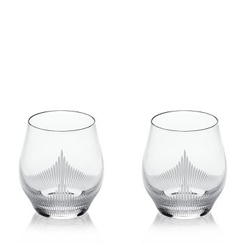 Lalique - 100 Points Double Old-Fashioned Glass, Set of 2