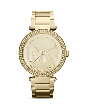 michael kors female michael kors glitz watch 33mm